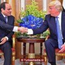 Trump erg tevreden met Sisi