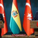 Turkije bedankt Bolivia voor steun aan Palestina