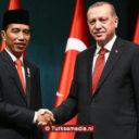 Turkije feliciteert Indonesië met verkiezingsuitslag
