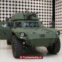 Turkije toont eerste elektrisch pantservoertuig