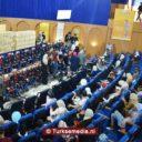 Turkije deelt rolstoelen uit aan kinderen in Algerije