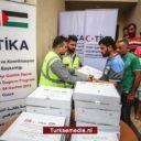 Turkije stuurt voedselhulp naar Gaza