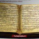 Veel belangstelling voor 800 jaar oude Koran in Turkije
