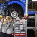 Zoveel auto's bouwde Turkije tussen januari en april 2019