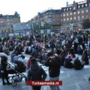 Islamofoben provoceren moslims in Kopenhagen, verstoren iftar
