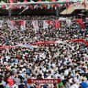 Tienduizenden Turken naar symbolisch begrafenisgebed Morsi: 'Geen natuurlijke dood'