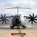 Turkije ontvangt achtste 'vliegend fort'