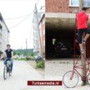 Turkse tiener heeft liever fiets met 'hoge instap'