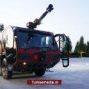 Turkije toont brandweerwagen van eigen makelij