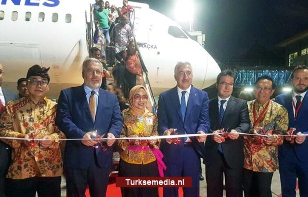 Turkish Airlines voor het eerst naar populairst vakantie-eiland Indonesië: Bali