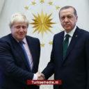 Erdoğan feliciteert nieuwe Britse premier