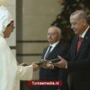Marokkaanse ambassadeur op bezoek bij Erdoğan
