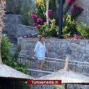 Noorse prinses geniet van vakantie in Turkije