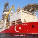 Turkije boort dieper op Middellandse Zee