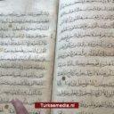 Turkse politie onderschept duizend jaar oude Koran