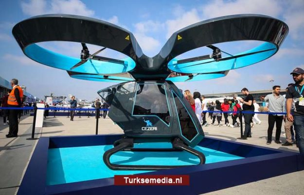 Dit is de vliegende Turkse auto