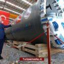 Turkije produceert eerste eigen tunnelboormachine: 'Slechts acht landen kunnen dit'