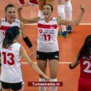 Turkse volleybaldames missen op haar na Europese titel