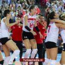 Turkse volleybaldames te sterk voor Nederland in EK-kwartfinale