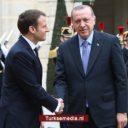 Erdoğan boort Macron zeer diep de grond in over Cyprus
