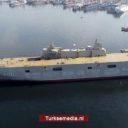 Turkije neemt eigen vliegdekschip volgend jaar in gebruik