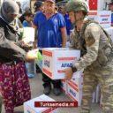 Turks leger deelt hulp uit in bevrijde delen Noord-Syrië