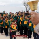 Noord-Syrische stad bedankt Turkije voor redding, kinderen eindelijk naar school