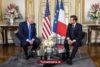 Trump en Macron botsen over Turkije