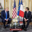 Trump en Macron botsen over Turkije