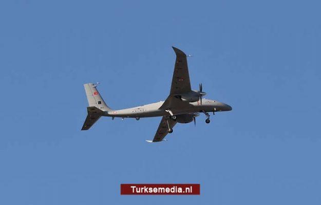 Turkije test nieuw onbemand vliegtuig van eigen makelij