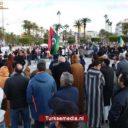Libiërs vieren komst Turkse militairen