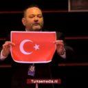 Geldboete voor Griek die Turkse vlag verscheurde in EP