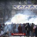 Griekse grenswacht vuurt traangas af op vluchtelingen richting Europa