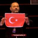 Strafrechtelijk onderzoek naar Grieks EP-lid dat Turkse vlag scheurde
