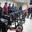 Turkije schenkt elektrische fietsen aan Palestina