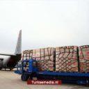 Turkije schenkt 15 ton medische goederen aan Palestina