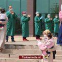 Turkse baby's overwinnen coronavirus
