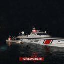 Turkse kustwacht redt door Griekenland teruggeduwde vluchtelingen