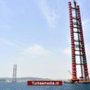 Turkije bouwt ongestoord verder aan droombrug: langste ter wereld