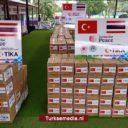Turkije stuurt voedselhulp naar Thailand