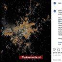 NASA deelt luchtfoto van Turkse hoofdstad