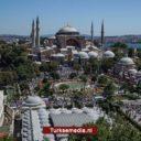 Moslims massaal naar eerste vrijdaggebed Ayasofya Moskee Istanbul