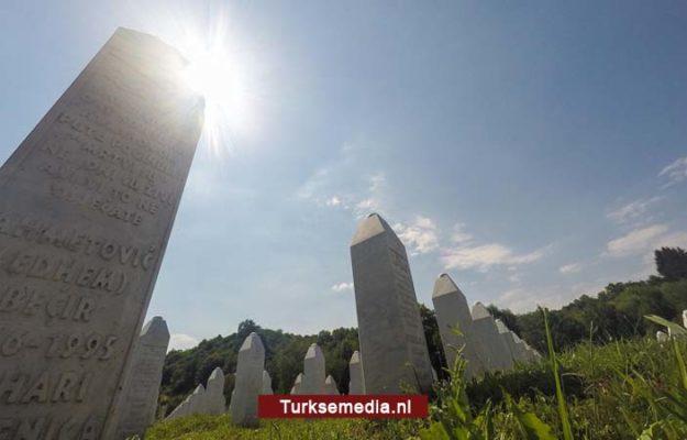 Turkije: Europese politici hebben niets geleerd van Srebrenica