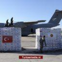 Turkije stuurt coronahulp naar 138 landen