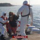 Turkse kustwacht redt door Griekenland teruggeduwde asielzoekers