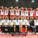 Jong Turkije Europees kampioen volleybal