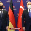 Verbale klappen: Turkije waarschuwt Griekenland in bijzijn van Duitsland