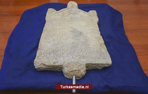 Italië retourneert gestolen artefact aan Turkije