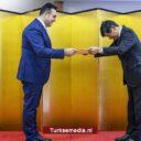 Japan eert bestuursvoorzitter Turkish Airlines