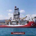 Turkije stuurt derde boorschip naar Zwarte Zee